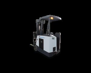 Chariot élévateur électrique à conducteur debout contrebalancé Stärke LiftMaxx ''Dock Stocker'' avec conduite assistée