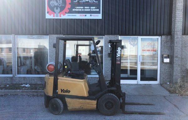 Chariot élévateur/lift Yale 3000 lbs propane